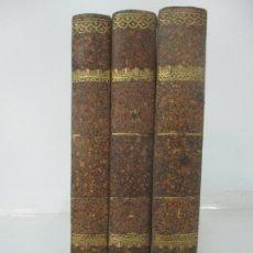Libros antiguos: EJERCICIO DE PERFECCIÓN Y VIRTUDES CRISTIANAS - ALONSO RODRIGUEZ - 3 TOMOS - AÑO 1834. Lote 176583228