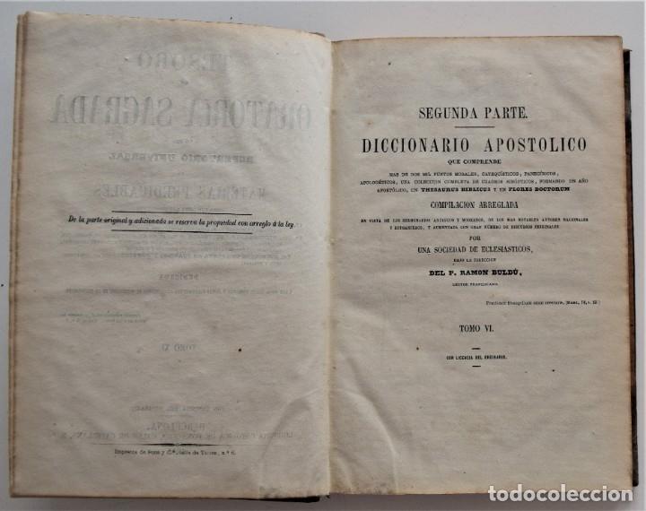 Libros antiguos: LOTE 4 LIBROS RELIGIOSOS DEL SIGLO XIX - AÑOS 1808, 1860, 1862 Y 1882 - BUEN ESTADO GENERAL - Foto 9 - 176697037