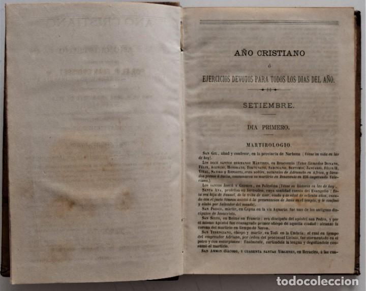 Libros antiguos: LOTE 4 LIBROS RELIGIOSOS DEL SIGLO XIX - AÑOS 1808, 1860, 1862 Y 1882 - BUEN ESTADO GENERAL - Foto 15 - 176697037