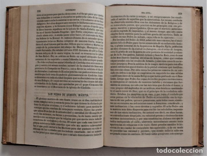 Libros antiguos: LOTE 4 LIBROS RELIGIOSOS DEL SIGLO XIX - AÑOS 1808, 1860, 1862 Y 1882 - BUEN ESTADO GENERAL - Foto 16 - 176697037