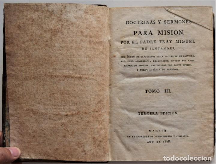 Libros antiguos: LOTE 4 LIBROS RELIGIOSOS DEL SIGLO XIX - AÑOS 1808, 1860, 1862 Y 1882 - BUEN ESTADO GENERAL - Foto 19 - 176697037