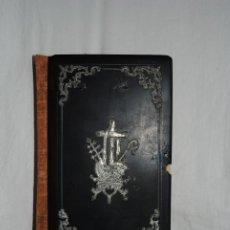 Libros antiguos: DIAMANTE DEL CRISTIANO , TAPAS DE EBONITA .. Lote 176958760