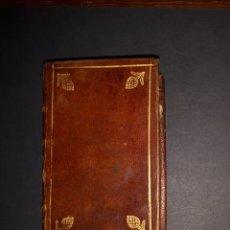 Libros antiguos: ORACIONES Y MEDITACIONES PARA EL SANTO SACRIFICIO DE LA MISA VENECIA 1749 CASTELLANO MINIATURA. Lote 177071943