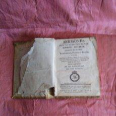 Libros antiguos: SERMONES DEL IIUSTRISIMO SEÑOR ESPÍRITU FLECHIER.PO DON JUAN ARRIBAS Y SORIA.1782. Lote 177302328