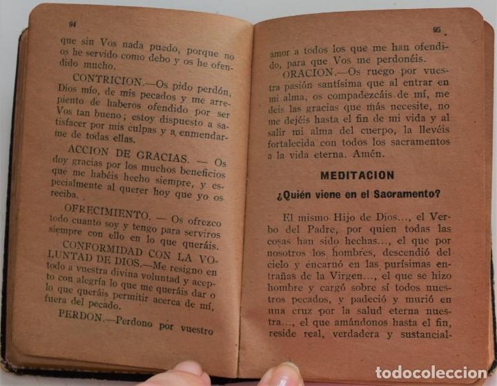 Libros antiguos: DIRECTORIO ESPIRITUAL POR JOSÉ MARÍA SOLER BOLUDA - VALENCIA AÑO 1935 - Foto 4 - 177508970