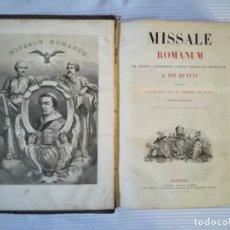 Libros antiguos: MISSALE ROMANUM 1857. Lote 177815505