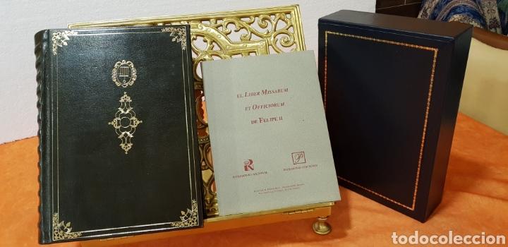 LIBRO DE HORAS DE FELIPE II CON EL LIBRO ESTUDIO. (Libros Antiguos, Raros y Curiosos - Religión)