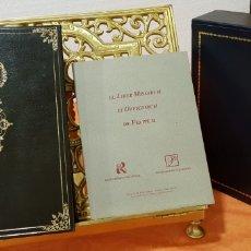 Libros antiguos: LIBRO DE HORAS DE FELIPE II CON EL LIBRO ESTUDIO.. Lote 151043849