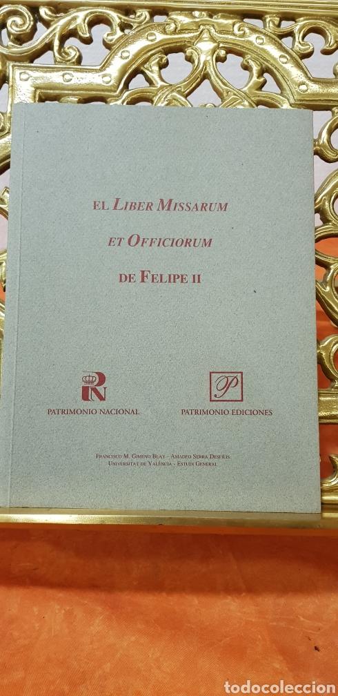 Libros antiguos: LIBRO DE HORAS DE FELIPE II con el libro estudio. - Foto 13 - 151043849