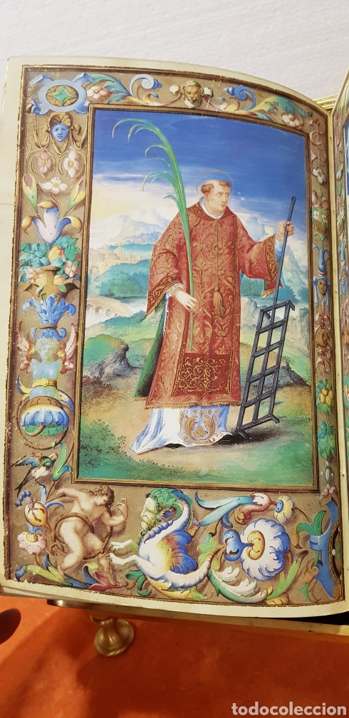 Libros antiguos: LIBRO DE HORAS DE FELIPE II con el libro estudio. - Foto 15 - 151043849