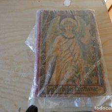 Libros antiguos: LIBRITO CATOLICO LAS VIRTUDES CRISTIANAS AÑO 1900 APROX. Lote 178153104