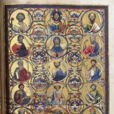 Libros antiguos: FACSÍMIL DEL PSALTERIUM GLOSATUM. (MOLEIRO). Lote 178282375