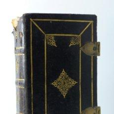 Libros antiguos: OFICIO DE LA SEMANA SANTA-SEGÚN MISSAL Y BREVIARIO ROMANO-SEGÚN PIO V-AMBERES 1734. Lote 178684361