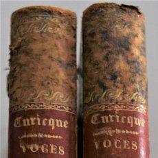 Libros antiguos: VOCES PROFÉTICAS O SIGNOS, APARICIONES Y PREDICCIONES MODERNAS - PRESBÍTERO CURICQUE - AÑO 1874-1875. Lote 179185036