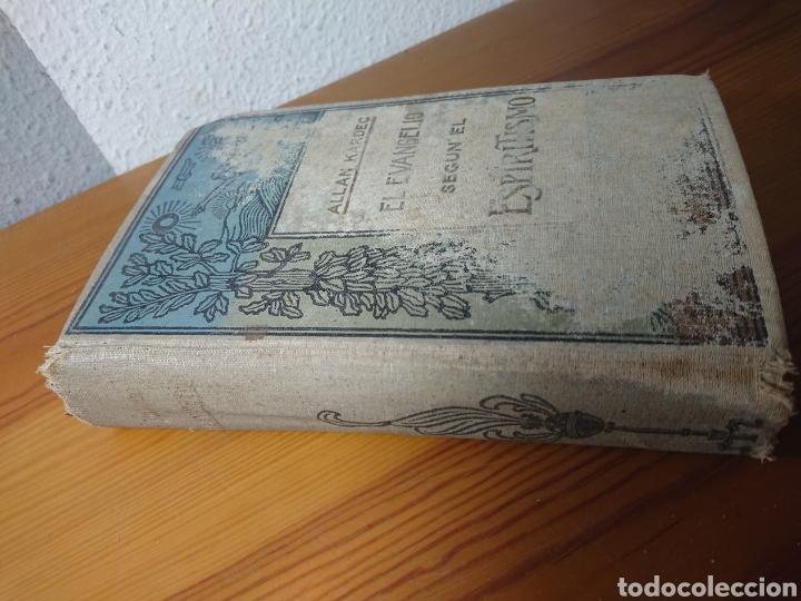 Libros antiguos: El Evangelio según el Espiritismo, Allan Kardec, Editoral Maucci - Foto 2 - 179396491