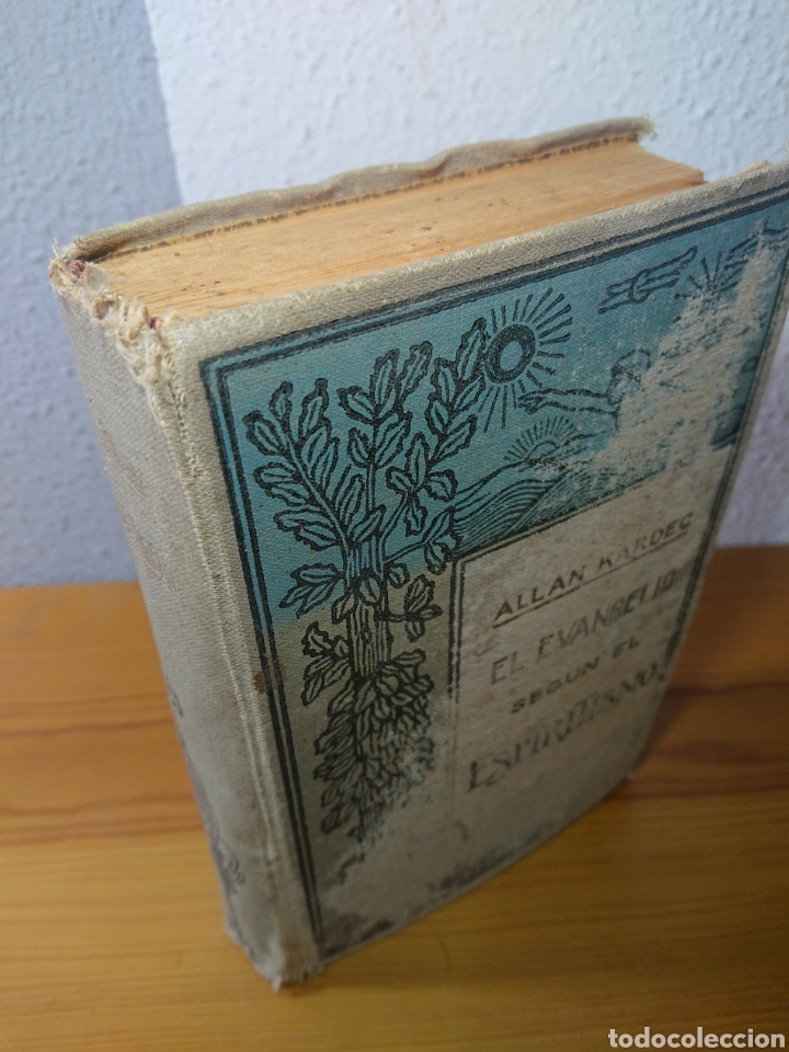 Libros antiguos: El Evangelio según el Espiritismo, Allan Kardec, Editoral Maucci - Foto 5 - 179396491