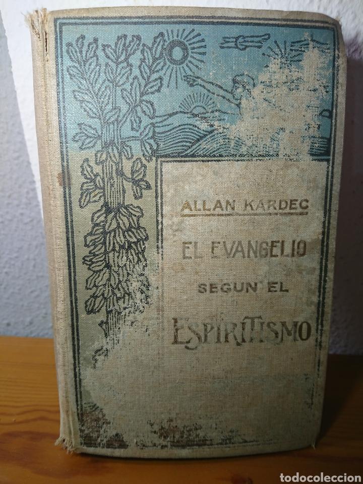 EL EVANGELIO SEGÚN EL ESPIRITISMO, ALLAN KARDEC, EDITORAL MAUCCI (Libros Antiguos, Raros y Curiosos - Religión)