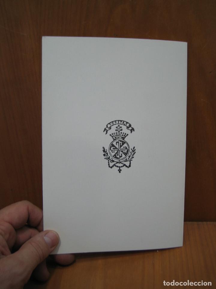 Libros antiguos: Libro religioso. Programa religioso. Córdoba - Foto 2 - 179548616