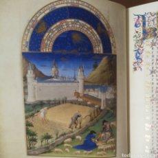 Libros antiguos: LAS MUY RICAS HORAS DEL DUQUE DE BERRY. FACSÍMIL MOLEIRO. Lote 179953310