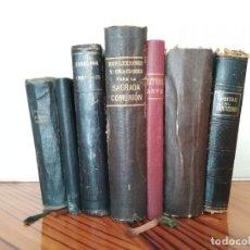Libros antiguos: LOTE DE LIBRITOS RELIGIOSOS DEL SIGLO XX 1909-1952. Lote 179958742