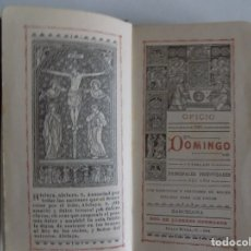 Libros antiguos: LIBRERIA GHOTICA. BREVIARIUM MODERNISTA. OFICIO DEL DOMINGO.1904. PIEL Y CORTES EN ORO.. Lote 180122271