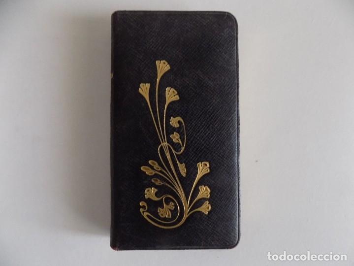 Libros antiguos: LIBRERIA GHOTICA. BREVIARIUM MODERNISTA. OFICIO DEL DOMINGO.1904. PIEL Y CORTES EN ORO. - Foto 3 - 180122271