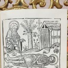 Libros antiguos: LA VIDA DE SANTO HONOFRE, FACSIMIL.. Lote 180135122