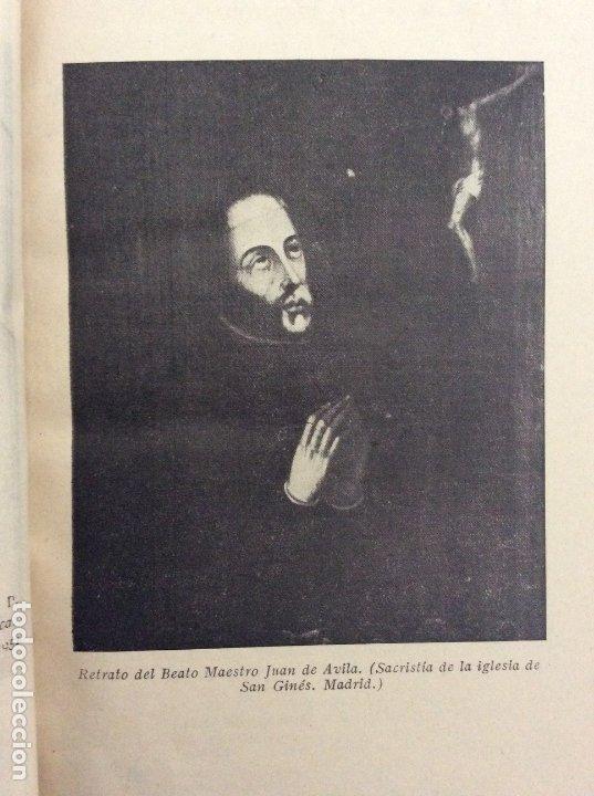 Libros antiguos: OBRAS COMPLETAS. TOMO I. BEATO JUAN DE ÁVILA. BAC. BIBLIOTECA DE AUTORES CRISTIANOS. 1952 - Foto 7 - 180252205