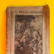 Libros antiguos: EL RIPALDA GRADUADO CUENCA 1919 JUNTA DEL CATECISMO DEL NIÑO JESUS Y M INMACULADA DE CUENCA E PINOS. Lote 180333500