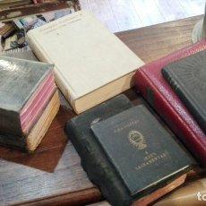 Libros antiguos: LOTE DE 7 LIBROS RELIGIOSOS. ANTIGUOS. Lote 180869780