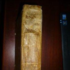 Libros antiguos: AÑO CHRISTIANO O EXERCICIOS DEVOTOS PARA TODOS LOS DEL AÑO --AGOSTO --1775 MADRID . Lote 180903972