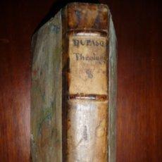 Libros antiguos: SUMMA THEOLOGIAE SCOTISTICAE SEBASTIANO DUPASQUIER 1698 -CAMBERII TOMUS OCTAVUS . Lote 180983530