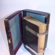 Libros antiguos: EUCOLOGIO ROMANO. DEVOCIONARIO COMPLETO. D. JOSÉ SAYOL Y ECHEVARRÍA. LLORENS HEMANOS. 1883. BARCELON. Lote 181749211