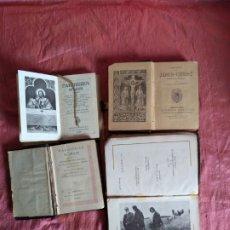 Libros antiguos: LOTE 4 LIBROS RELIGIOSOS .. Lote 181930856