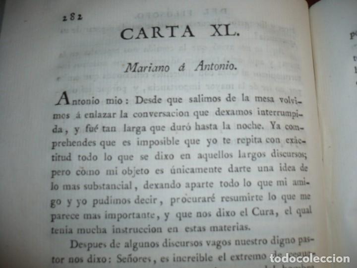 Libros antiguos: EL EVANGELIO EN TRIUNFO O HISTORIA DE UN FILOSOFO DESENGAÑADO 1799 MADRID TOMO 4º EDICI 4ª - Foto 7 - 182231192