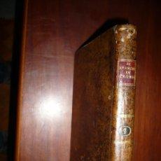 Libros antiguos: EL EVANGELIO EN TRIUNFO O HISTORIA DE UN FILOSOFO DESENGAÑADO 1799 MADRID TOMO 4º EDICI 4ª. Lote 182231192