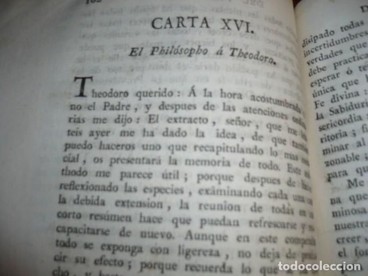 Libros antiguos: EL EVANGELIO EN TRIUNFO O HISTORIA DE UN FILOSOFO DESENGAÑADO 1798 VALENCIA TOMO 2º EDICI 3ª - Foto 6 - 182231963