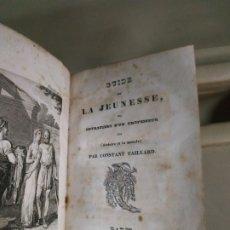 Libros antiguos: 1834 GUIDE DE LA JEUNESSE - CONSTANT TAILLARD. EN FRANCÉS. Lote 182242958