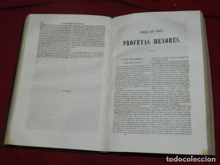 Libros antiguos: (MF) EL ABATE DU-CLOT - VINDICIAS DE LA SANTA BIBLIA CONTRA LOS TIROS DE LA INCREDILIDAD, BCN 1854 - Foto 4 - 182357330