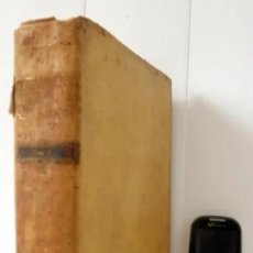 Libros antiguos: PERGAMINO - PROMPTA BIBLIOTHECA DE LUCII FERRARIS 1791 DICCIONARIO T - Z - 24,5CM X 19CM. Lote 182398938