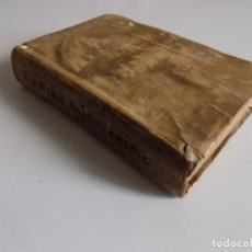Libros antiguos: LIBRERIA GHOTICA. EPISTOLAS SELECTAS DE SAN GERONYMO.1758. SIGLO XVIII. PERGAMINO.MÍSTICA. Lote 182425572