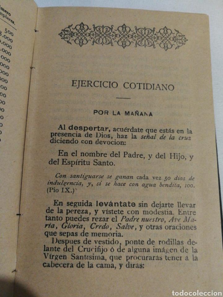 Libros antiguos: DEVOCIONARIO MANUAL EJERCICIOS COTIDIANOS CRISTIANOS.1894 - Foto 2 - 182433735