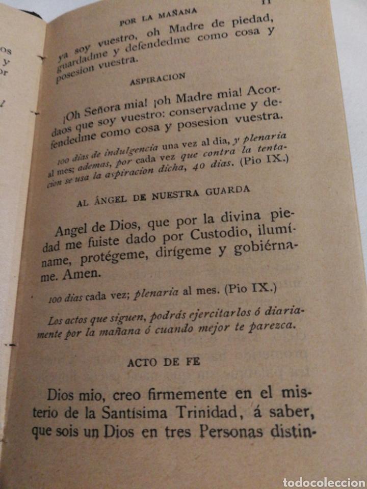 Libros antiguos: DEVOCIONARIO MANUAL EJERCICIOS COTIDIANOS CRISTIANOS.1894 - Foto 3 - 182433735