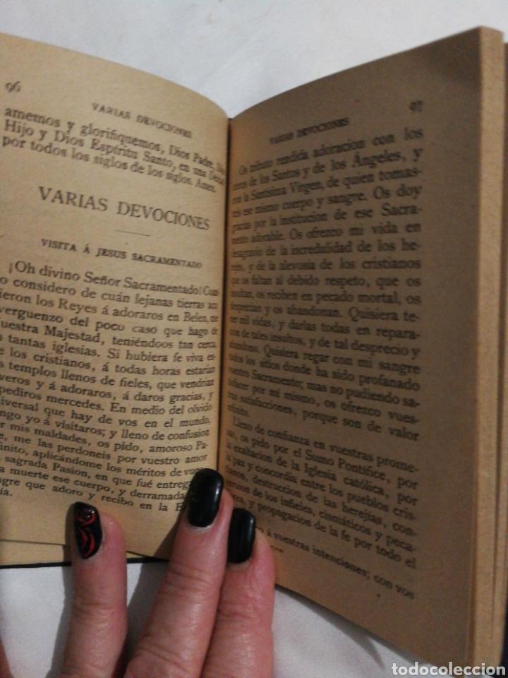 Libros antiguos: DEVOCIONARIO MANUAL EJERCICIOS COTIDIANOS CRISTIANOS.1894 - Foto 4 - 182433735