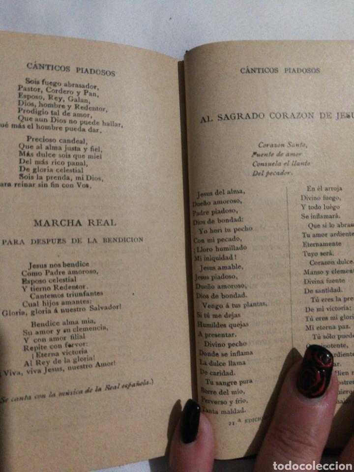 Libros antiguos: DEVOCIONARIO MANUAL EJERCICIOS COTIDIANOS CRISTIANOS.1894 - Foto 5 - 182433735
