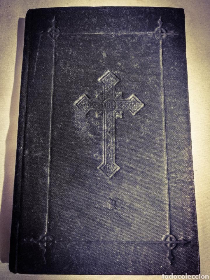 Libros antiguos: DEVOCIONARIO MANUAL EJERCICIOS COTIDIANOS CRISTIANOS.1894 - Foto 6 - 182433735