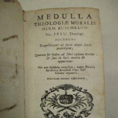Libros antiguos: MEDULLA THEOLOGIAE MORALIS. BUSEMBAUM, HERM. 1746.. Lote 182591370