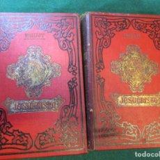 Libros antiguos: CRISTIANISMO - JESUCRISTO M. LOUIS VEUILLOT - MADRID 1899, DOS TOMOS 23CM 1500PAG + INFO. Lote 182777800