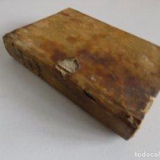 Libros antiguos: LIBRERIA GHOTICA. JOSEPH BONETA. CRISOL DEL CRISOL DE DESENGAÑOS.1768.PRIMERA EDICIÓN. PERGAMINO.. Lote 182784781