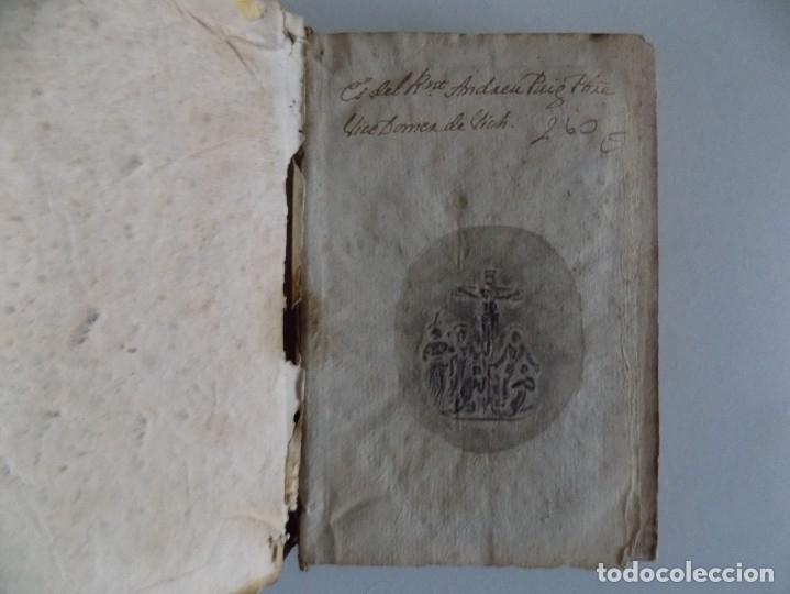 Libros antiguos: LIBRERIA GHOTICA. JOSEPH BONETA. CRISOL DEL CRISOL DE DESENGAÑOS.1768.PRIMERA EDICIÓN. PERGAMINO. - Foto 3 - 182784781